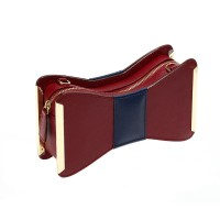 Aristotle Bow bag - maroon2