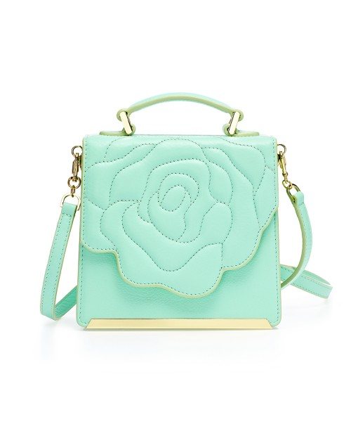 Aristotle Rose Bag - Box Minty green2