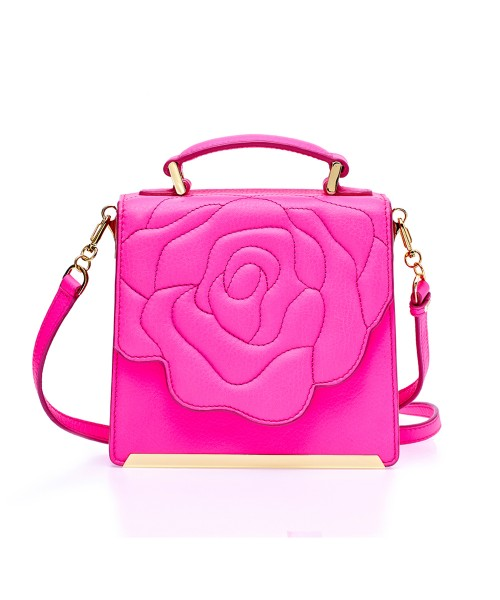 Aristotle Rose Bag - Box Pink Neon2