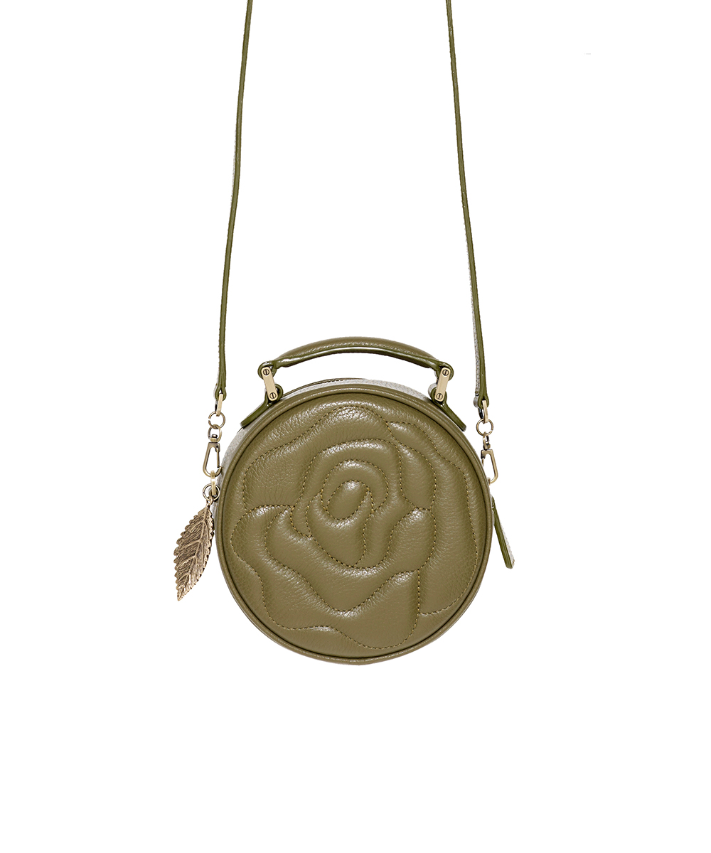 Aristotle rose bag - little maxi - macha green1
