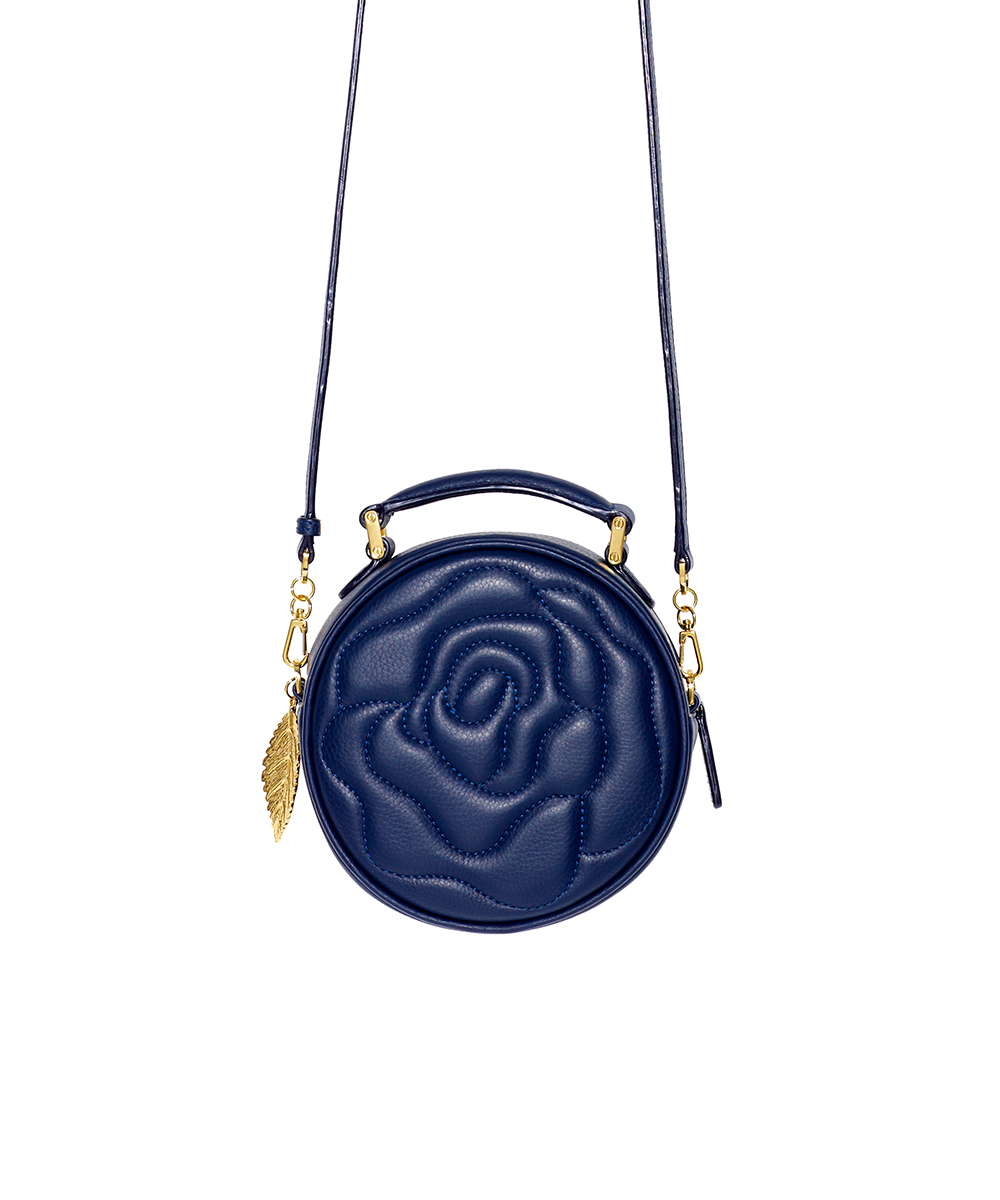 Aristotle rose bag - little maxi - navy 1