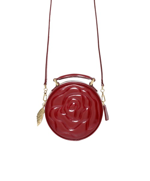 Aristotle rose bag - little maxi - red1
