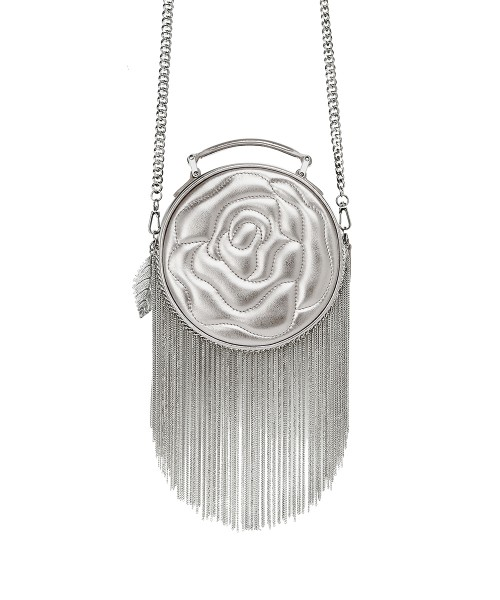 aristotle rose bag - fringie - Silver1