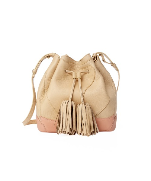 aristotle rose bag - Blooming - nude