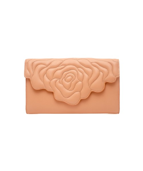 aristotle rose bag - clutch - old rose